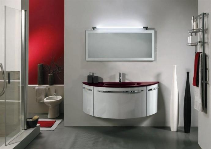 Mobili bagno bordeaux mobile bagno next color colonna